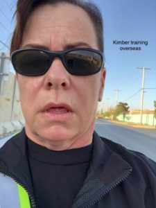 Kimber Training for Vermont City Marathon