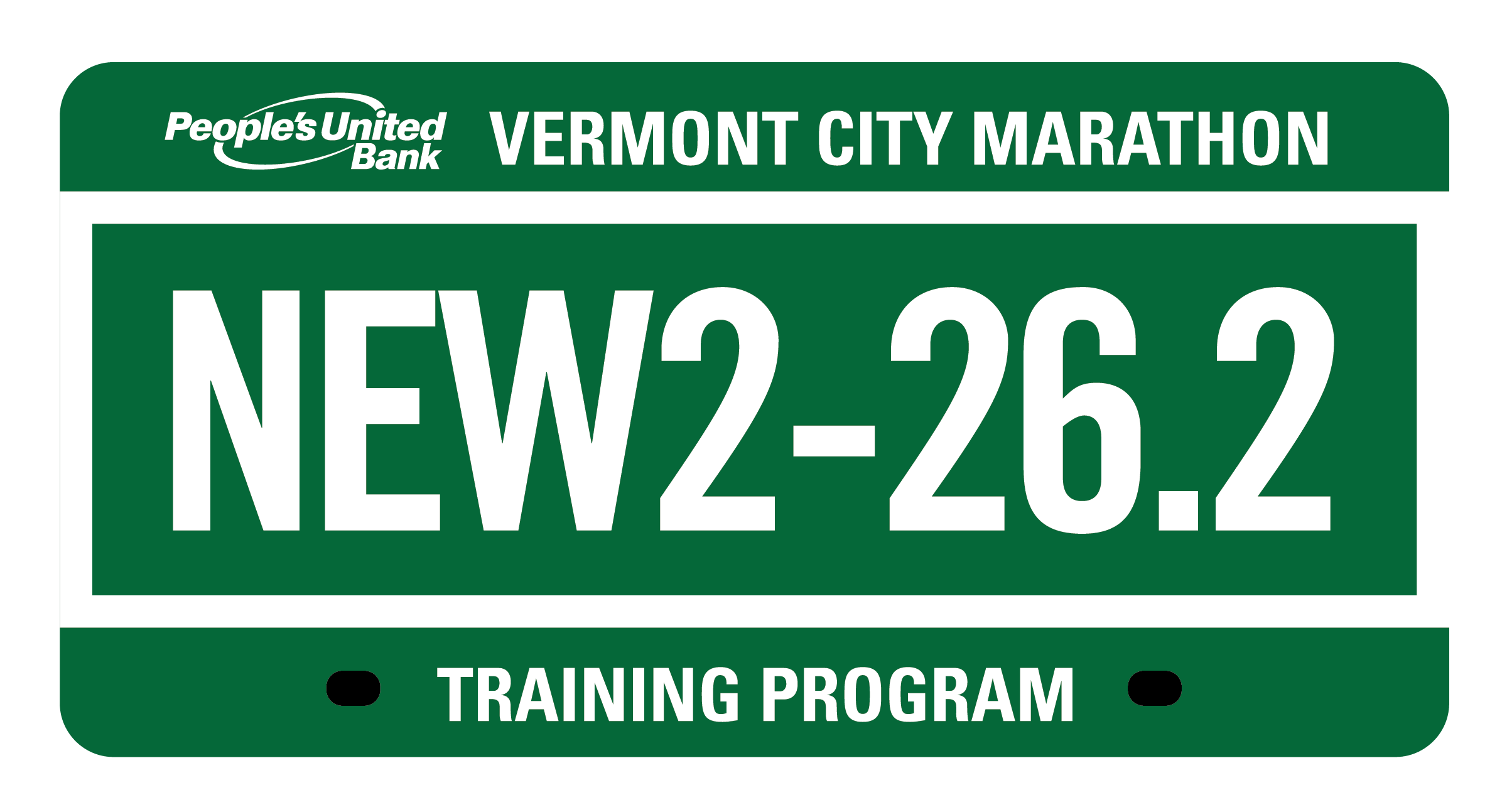 Marathon Training Program Logo